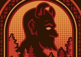 Highland Brewing Company - 'Devil's Britches IPA' Shirt Design